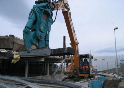 Villars-sur-Glâne – démolition usine Usiflamme